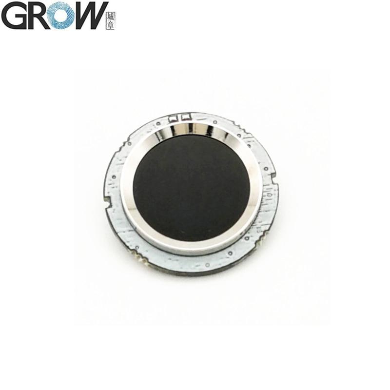 GROW R502 DC3.3V Small Circular Blue Red LED MX1.0-6pin Capacitive Fingerprint Access Control Module Sensor Scanner(China)
