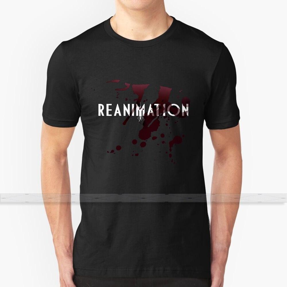 Reanimação! Design personalizado imprimir para homens mulheres de algodão nova legal t camisa tamanho grande 6xl sangue violência medo terror faca