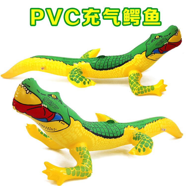 PVC Inflatable Toy Lizard Crocodile Inflatable Balloon Animal Model Plastic Spread Hot Toy Manufacturer Spot