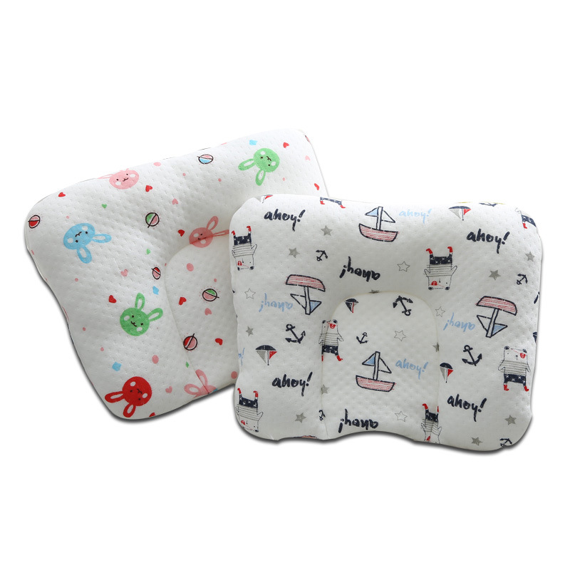 U-shaped Pillow Baby Shape Pillow Baby Pillow Warm Cotton Baby Room Decoration Newborn Pillow Protection Head