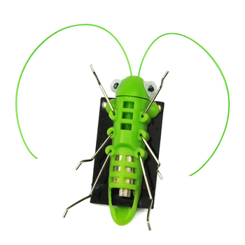 Solar Toys For Kids 1 Set Mini Powered Toy DIY Solar Powered Toy DIY grasshopper Kit Children Educational Gadget Hobby Funny 4