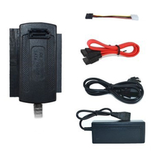 SATA/PATA/IDE Stick zu USB 2.0 Adapter Konverter Kabel für 2,5/3,5 Zoll Festplatte Anschluss Teile #5
