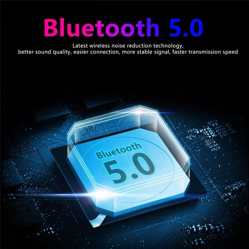 prova dwaterproof água bluetooth 5.0 9d estéreo