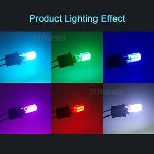 Image 5 - Luces estroboscópicas intermitentes T10 194 W5W 22 Led 3014SMD T10, brillo duradero, Flash estroboscópico automático, dos modos de funcionamiento, bombillas para coche, 2 uds.
