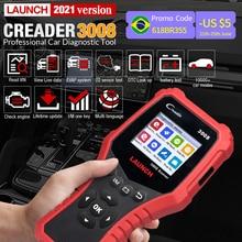 STARTEN Creader 3008 Auto OBD2 Code Reader Scanner Unterstützung obd2 + Batterie test CR3008 OBDII diagnose werkzeug freies update PK KW850