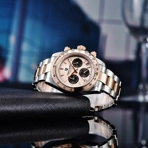 Image 3 - PAGANI DESIGN montre bracelet pour hommes, marque supérieure de luxe, qualité militaire, étanche, Quartz pour affaires