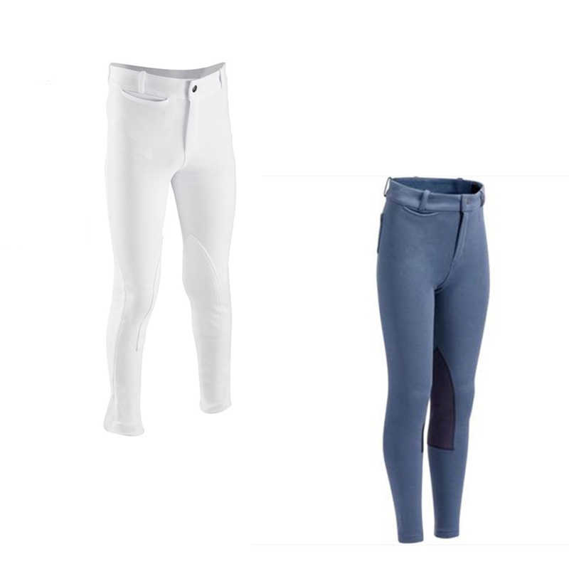 Horse-riding Trousers White Show Competition for Children's Equestrian Dresses Children's breeches
