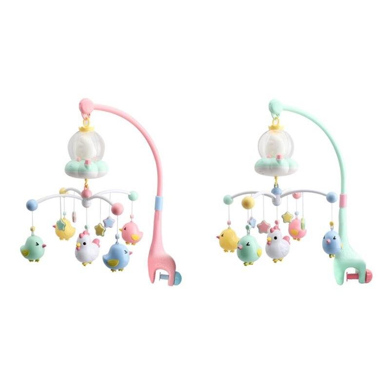 Hochets bébé lit tournant Mobile support de jouet Mobile boîte à musique Projection 0-12 mois nouveau-né jouets pour bébés