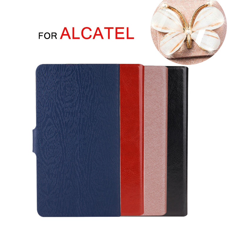 Stand Case For <font><b>Alcatel</b></font> 3L 2020 6.22 Inch Flip Cover For <font><b>Alcatel</b></font> 3 3L 2019 5053 <font><b>5039D</b></font> Luxury Leather Capa Coque Case image