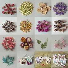 Tea Candle Decoration Petal DIY Pure Soy Wax Natural Ingredients Flower Lemon Le