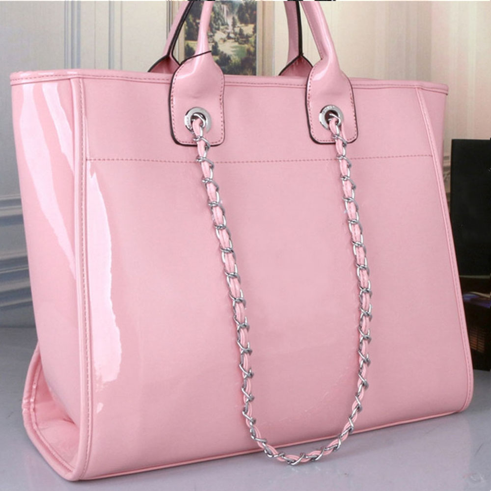 2020 Europe And United States New Leather Fashion Shopping Bag Temperament Women Bag Single Shoulder Portable Bag Tote Purse