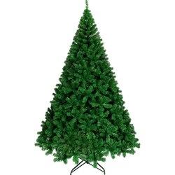Рождественская елка из ПВХ для рукоделия, 180/120/90 см, вечерние украшения в виде Санты