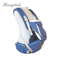 Honeylulu Cotton Ergonomic Baby Carrier Backpacks Hipseat Kangaroo Newborn Sling Wrap Multifunction