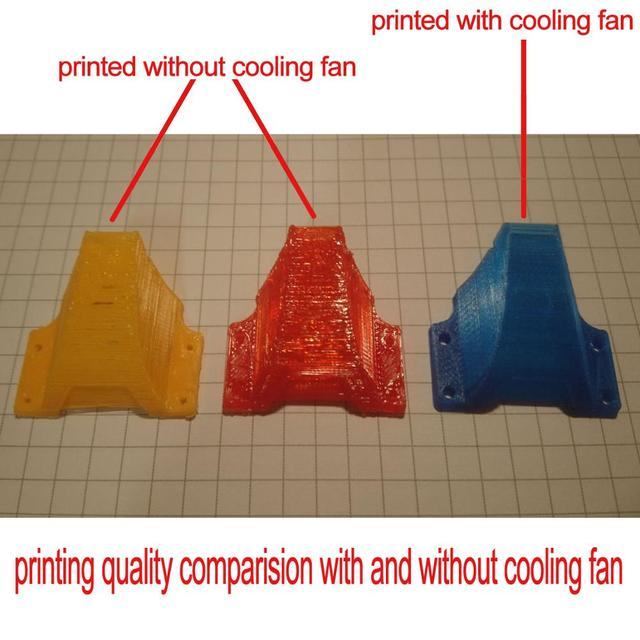 Easythreed DIY X1 & X2 Cooling fan for E3D X1 X2