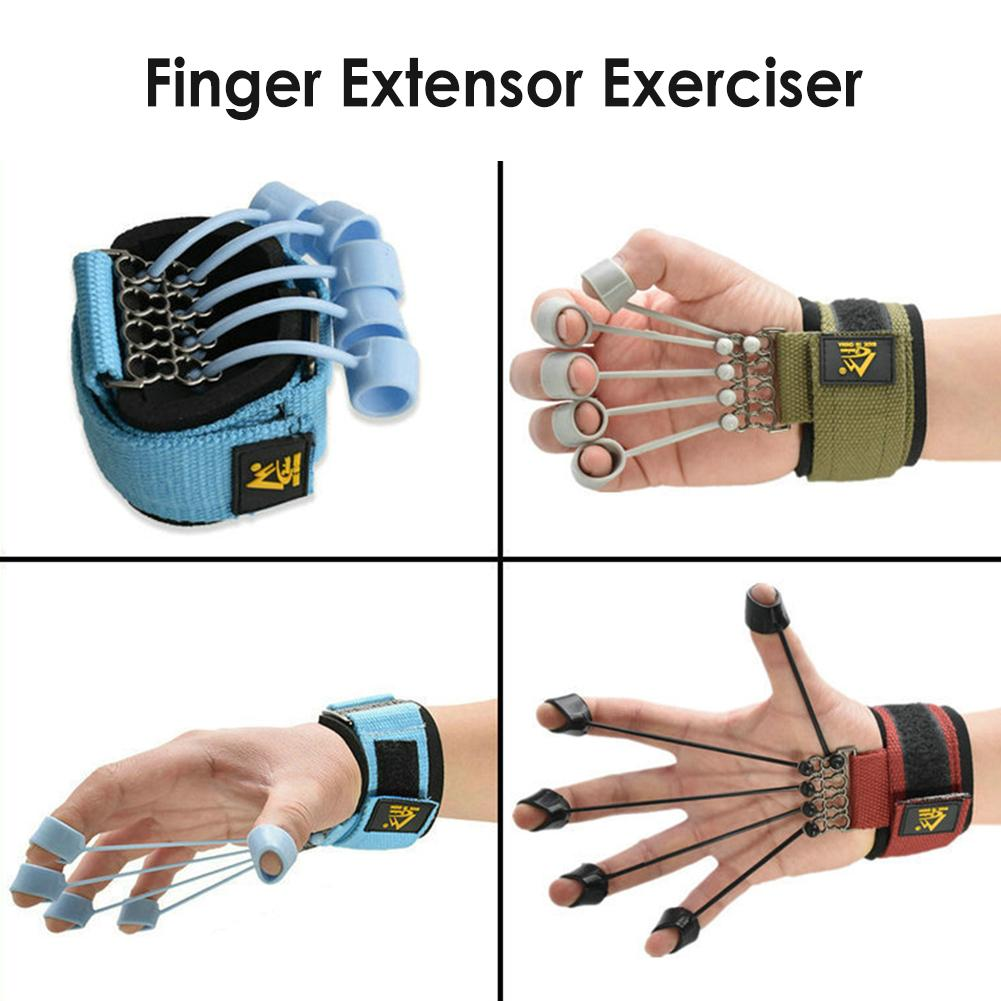 Finger Gripper Strength Trainer Hand yoga Resistance Band Finger Flexion And Extension Training Device Finger Force Grip Device
