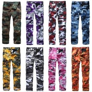Image 3 - Мужские армейские брюки карго BDU в стиле милитари, рабочие повседневные камуфляжные цвета