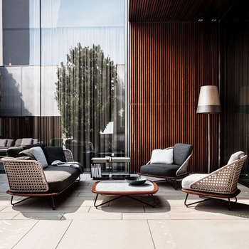 Outdoor Sofa and Chairs 1