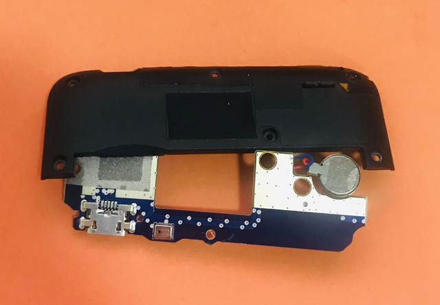 Used Original USB Plug Charge Board+loud speaker For Homtom S7 MTK6737 Quad Core Free shipping