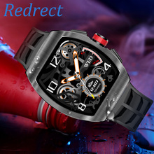 TK18 Smart Watch IP68 Waterproof Bluetooth Call Heart Rate Blood Pressure Monitor Fitness Tracker Men Women Smartwatch for App