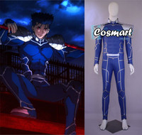 Fate/Extra Stay Night FGO Lancer CU Chulainn Cosplay Costume Uniform Bodysuit Halloween costume For men Free Shipping
