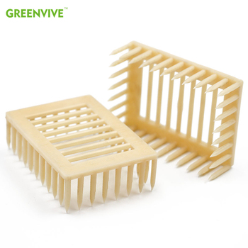 beekeeping tools protective cover base bee queen king cage accessories fertility king pedestal guard cage cover bee equipment 10 4 Pcs Queen Bee Cages Prisoner Quality Queen Bee Cage Wang Beehive Buckle Cover beekeeping equipment and tool for Beekeeper