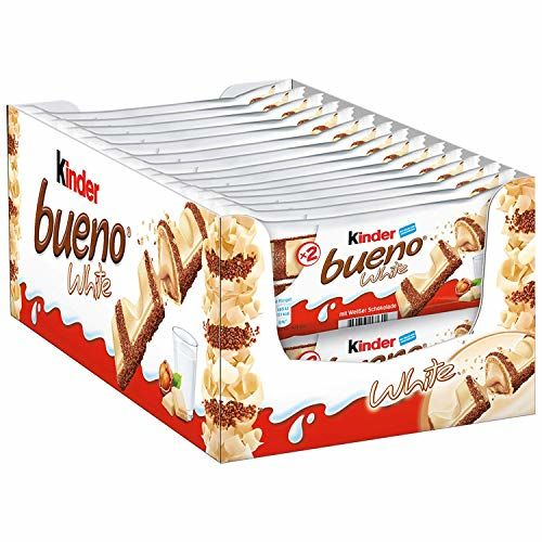 Kinder Bueno White Twin Chocolate Bar - 30 Pack