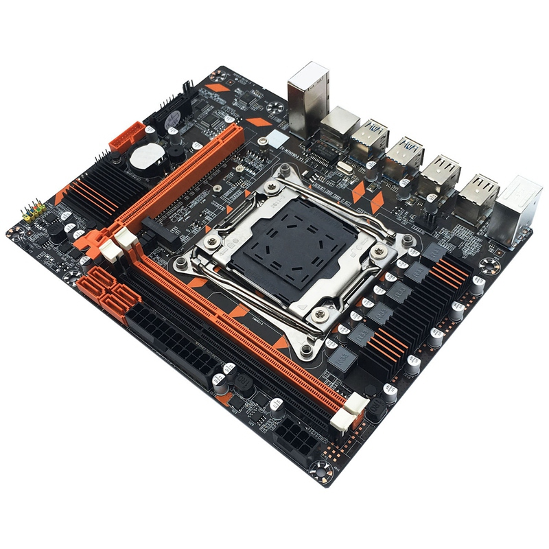 X99 LGA2011-V3Pin DDR3 Dual Channel Desktop Computer Mainboard Motherboard for E5-2649/2678/2696/2629/2668 V3 CPU Kit