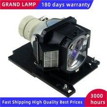 DT01022 Hitachi CP RX80W / CP RX78 / ED X24 / CP RX78W /CP RX80 /ED X24Z 용 교체 프로젝터 램프 HAPPY BATE