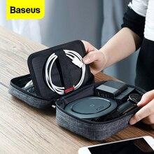 Baseus Phone Bag Case For iPhone Xs Max Xr X 8 7 6 6s 삼성 S10 A7 Xiaomi Mi 9 8 화웨이 패브릭 천 전화 파우치 보관 커버
