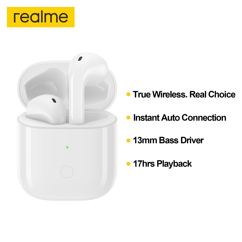 Tws-наушники Realme Buds Air Neo с поддержкой Bluetooth 5,0 и сенсорным управлением