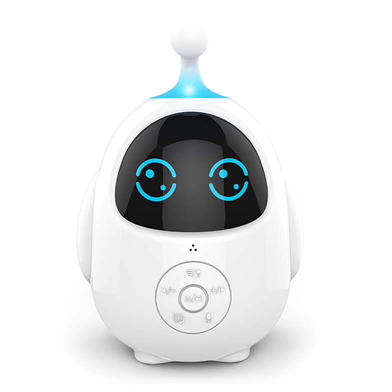 Q-Toy Egg-Smart-Robot Le Learning Voice-Dialogue Painted Educational Early-Childhood