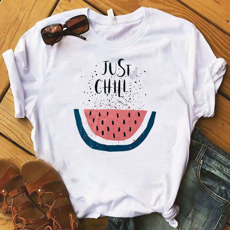 Female Kawaii Camisas Mujer Clothes New Pineapple Fruits Clothing T-shirt Fashion Women Casual Tee Top Graphic T Shirt Plus Size