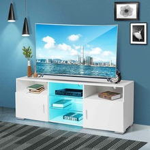 Tv-Console Cabinet Tv-Stand Living-Room-Furniture Modern 65inch To Up LED for Screens