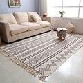 Марокканский ручной тканый ковер для гостиной  одеяло с геометрическим узором  домашние коврики для спальни  напольный диван  журнальный ст...