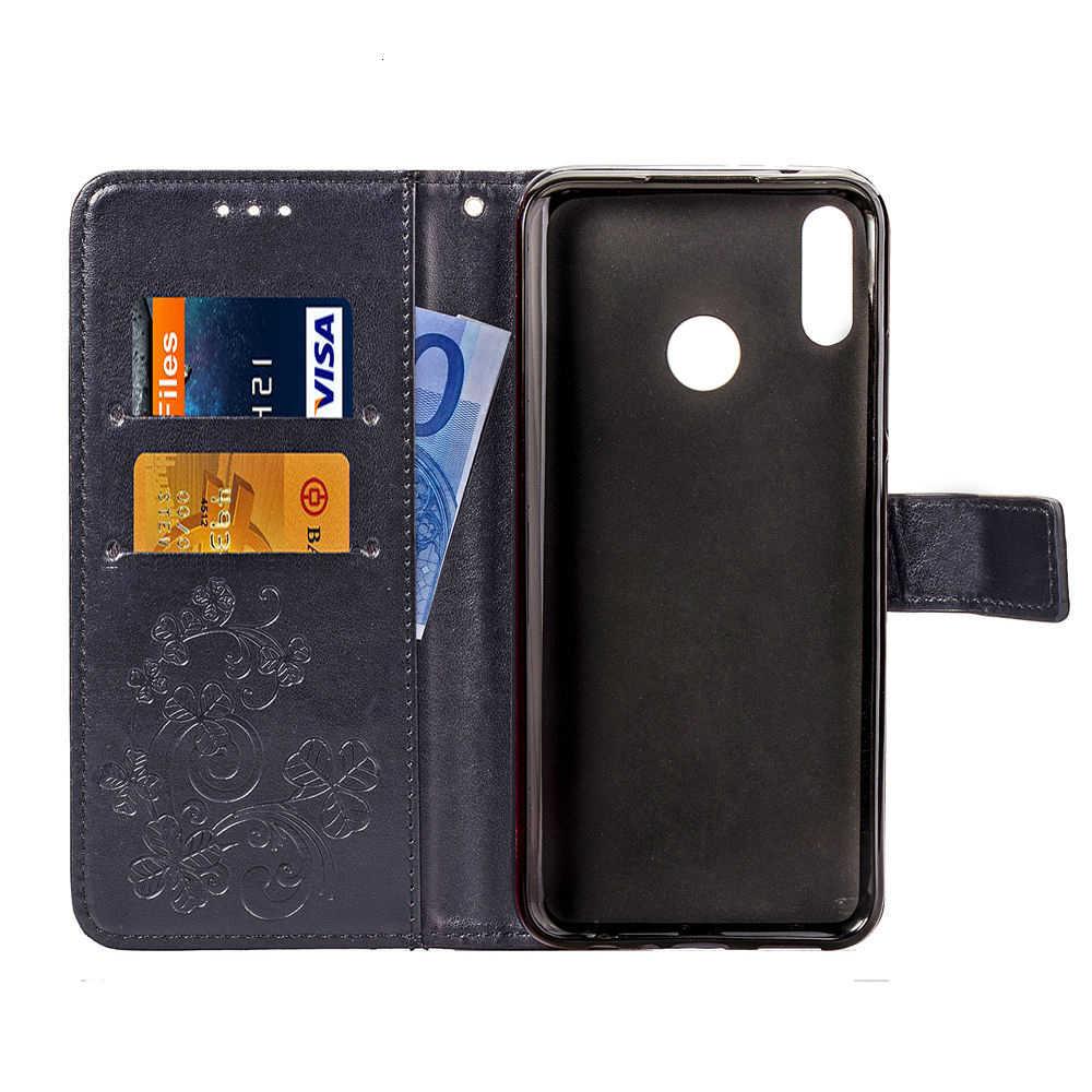 Ốp Lưng Điện Thoại Motorola Một Điện Bật Bằng Da PU Nắp Lưng Dẻo Silicone Dành Cho Moto P30 Note Dạng Ví Túi Đựng Điện Thoại Thông Minh coque Funda