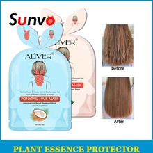 Hair care Plant extracts Hair Mask Flower And Fruit Extract Nourish Free Hair Mask Nourishing Soften Hair Anti-drying Hair Mask hair relaxers sexy hair sob44 hair masks restoration and nourishment mask