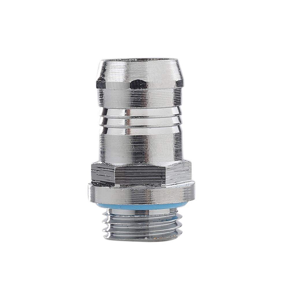 14mm G1/4 Thread Soft Tube Hose Connector Fitting For PC Water Cooling System