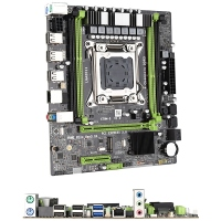 X79 M2 Motherboard LGA2011 M ATX USB2.0 PCI E NVME M.2 SSD Support REG ECC Memory and Xeon E5 Processor