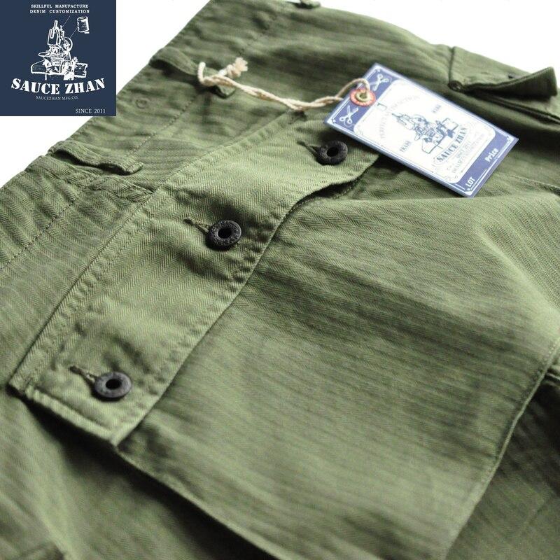 Erkek Kıyafeti'ten Şortlar'de SauceZhan USMC P44 abd ordusu HBT şort VINTAGE rahat şort amerikan Retro askeri şort tulum erkek şort Baker pantol'da  Grup 3