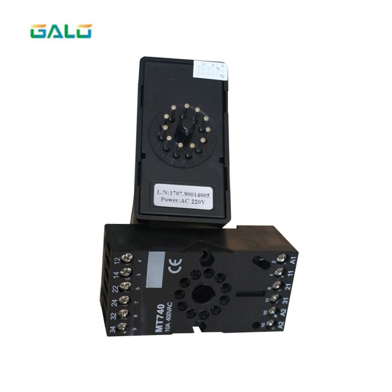 220V - 250V Single Channel High Sensitivity /Expressway/Highway Detectpr/ETC Vehicle Loop Detector Use For Parking System
