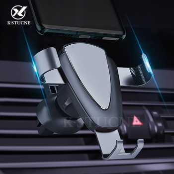 Gravity Car Phone Holder Air Vent Mount Universal Mobile Smartphone Holder For Phone In Car Support For Samsung S10 S9 5