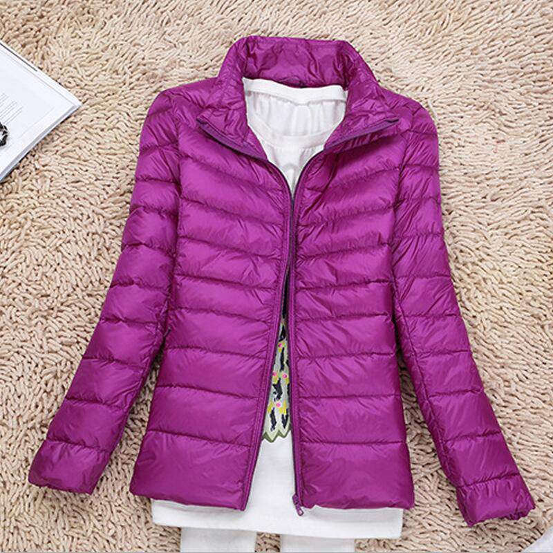 Winter Warm Women Jacket Plus Large Size 5XL 6XL <font><b>7XL</b></font> Autumn <font><b>Coat</b></font> Cotton Down Jacket Long Sleeve Slim Fit Light Overcoat image