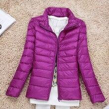 Winter Warme Jacke Frauen Plus Große Größe 5XL 6XL 7XL Herbst Mantel Baumwolle Unten Jacke Langarm Slim Fit Licht mantel