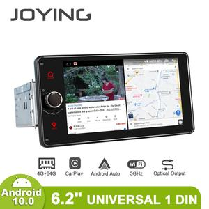 Image 3 - Android 10.0 Car Radio 6.2 inch GPS Navigation 4GB RAM+64GB ROM head unit stereo universal autoradio video player support 4G/BT