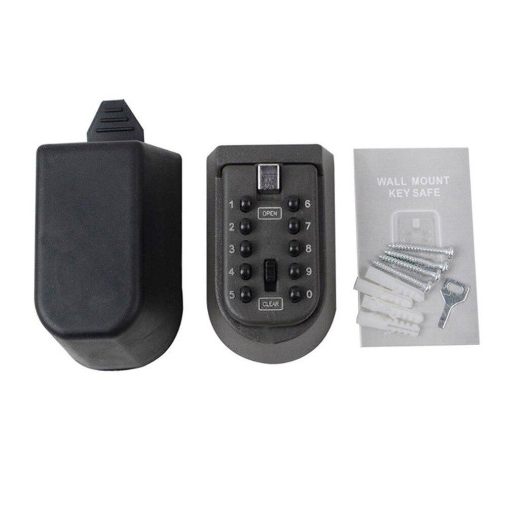 Открытый водонепроницаемый настенный ключ коробка безопасности Противоугонный кодовый замок коробка замок держатель Мини пароль