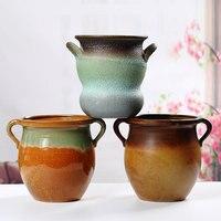 Flower Pots, Meaty Mouth, Antique Plants, Fleshy Flower Pots, Kiln, Home Decoration, Ceramic Pots