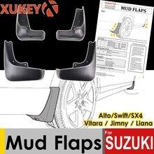 Lembi di Fango auto Per Suzuki Alto Swift SX4 S Cross Scross Grand Vitara Jimny Escudo Paraspruzzi Paraspruzzi Fango flap Parafanghi 2018