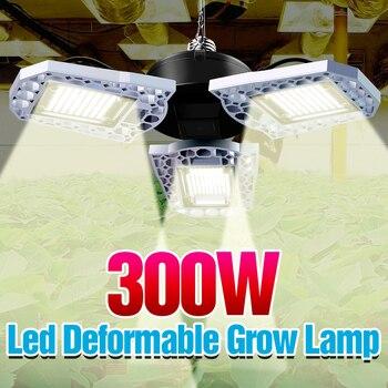 E26 Led Grow Light E27 Led Full Spectrum Hydroponic Plant Lamp 300W High Power Grow Tent Indoor Lighting Flower Seeds Bulb 220V
