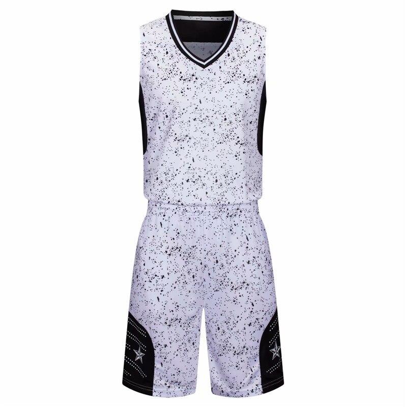 equipe de basquete uniforme em branco treino
