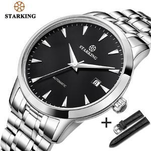 STARKING Brand Watch Stainless-Steel Waterproof Automatic Original Self-Wind 5atm AM0184